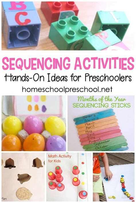 preschool sequencing games engaging on sequencing activities for preschoolers 392