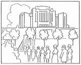 Temple Coloring Pages Lds Stampylongnose Mormon Lake Salt Irvine Rebecca Synagogue Building Getdrawings 1923 August History Canada Template Getcolorings sketch template