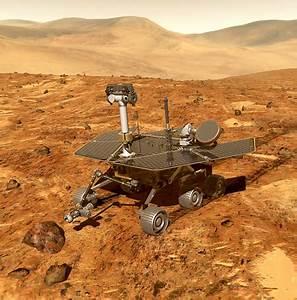 Mars-Rover legt einen Marathon zurück