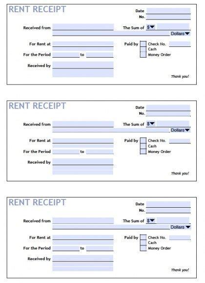 receipt template doc 6 rent receipt templates free sle templates