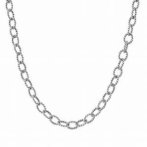 Drawn chain metal necklace - Pencil and in color drawn ...