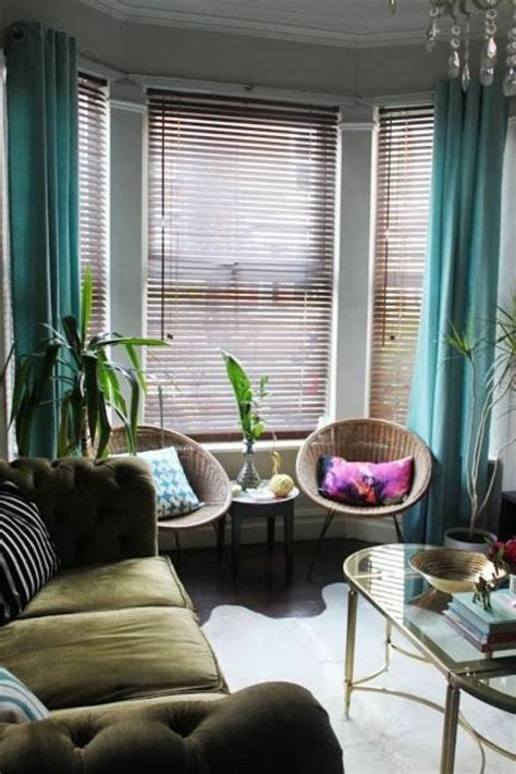 ideas curtains   bay windows curtain ideas