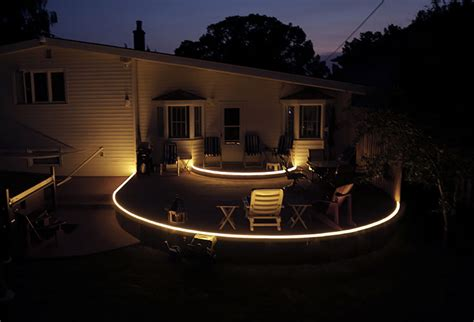 led lights for deck lighting and patio lighting