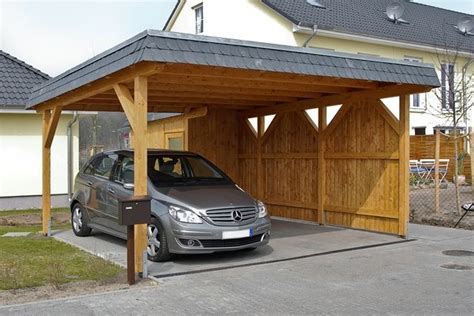 Carports are freestanding, covered structures designed to protect your vehicle from potential harm and damage, but keep in mind that not all are the same. Great Wooden Car Ports Ideas Picture Of Car Ports Cheap ...