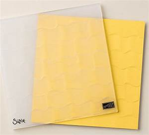 Awesomely Artistic And Embossed Ruffles In Handmade Card