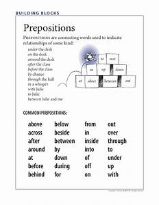 FREE: Understanding prepositions—and prepositional phrases ...
