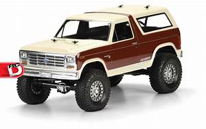 1981 Ford Bronco Clear Body from Pro-Line - RC Driver