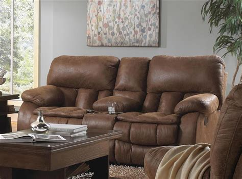 reclining sectional sofa with massage and heat madden reclining console loveseat with heat and massage by