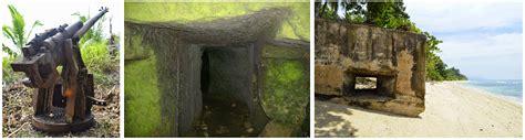 wisata  indonesia meriam  bunker jepang wisata