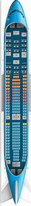 Klm Boeing 747 400 Seating Chart Klm A330 200 Seat Map Klm Airlines Airline Seats