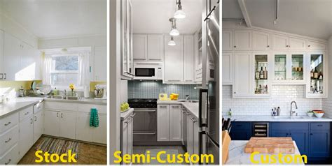 how to make stock cabinets look custom kitchen cabinet guide home dreamy