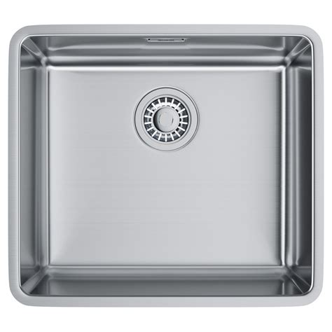 franke stainless steel undermount kitchen sinks franke kubus kbx 110 45 stainless steel undermount kitchen 8265
