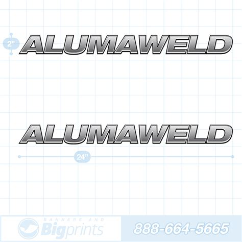 Alumaweld Boat Graphics by Alumaweld Boat Decals Factory Sticker Package