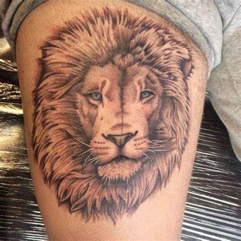 meilleurs tatouages lion  leur signification