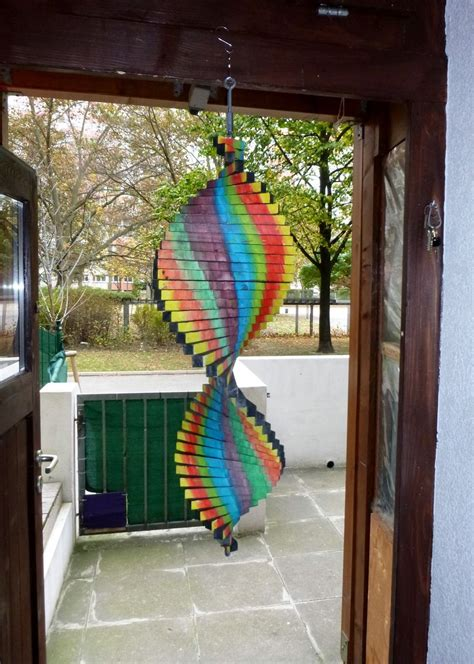 buntes windspiel bastelanleitung zum selber basteln    windspiele windspiele