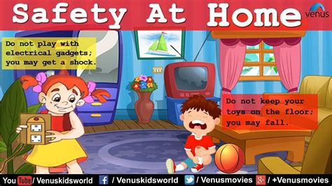 for at home safety at home