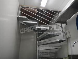 Escalier Métallique Industriel : etude et fabrication escalier h licoidal industriel creametal ~ Melissatoandfro.com Idées de Décoration