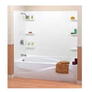 5 piece mobile home bathtub surround w shelves 54 quot x 27 quot