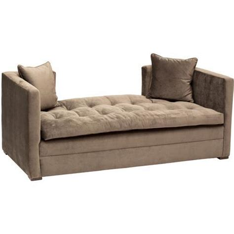 Tufted Settee Bench by Camille Tufted Settee Ottomans Benches Restoration