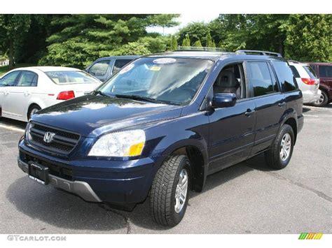 2004 Honda Pilot Ex L by 2004 Midnight Blue Metallic Honda Pilot Ex L 4wd 13816389
