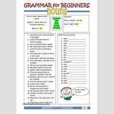 Grammar For Beginners Nouns (2)  Free Esl Worksheets  Useful Things  Pinterest Englisch