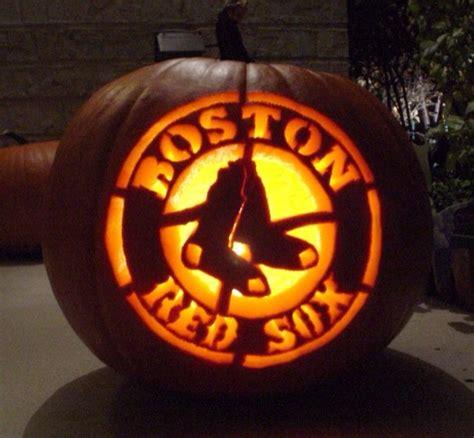 Boston Bruins Pumpkin Carving Stencil