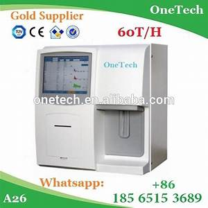 Cheapest Blood Cell Analyzer Fully Automatic    60 Tests  H