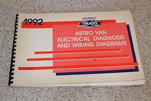1992 Chevrolet Astro Van Electrical Diagnosis  U0026 Wiring Diagrams