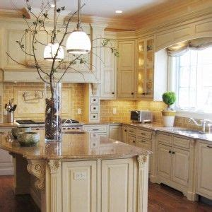 cream color kitchen cabinets     color island kitchen tuscany kitchen
