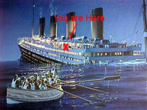 rearranging the deck chairs on the titanic freedoms