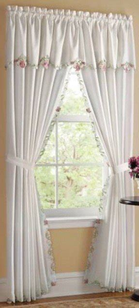 drapes  attached valance foter