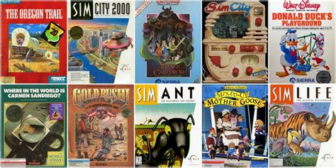 8 Educational Computer Games Early 2000s
