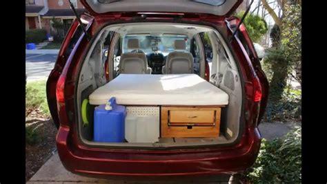 convert  minivan   camper   minutes