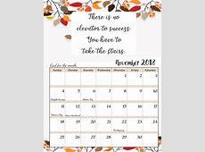 November 2018 Calendar Latest Calendar