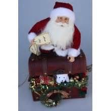 santa treasure box santa christmas santa red santa