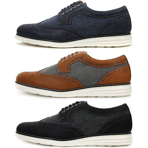 comfortable mens dress shoes new wing tip casual stylish sneakers mens comfort dress