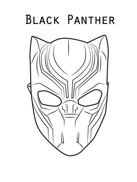 black panther coloring pages  coloring pages  kids
