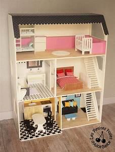Super Construire Une Maison De Barbie En Bois WT77