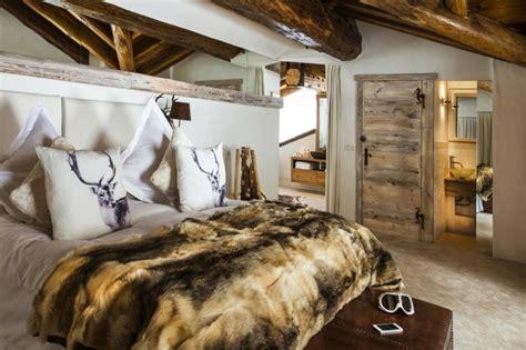 deco chambre chalet d 233 co chalet montagne 99 id 233 es pour la chambre 224 coucher