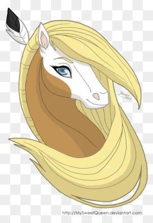 horse drawing spirit  gigixx  deviantart chica