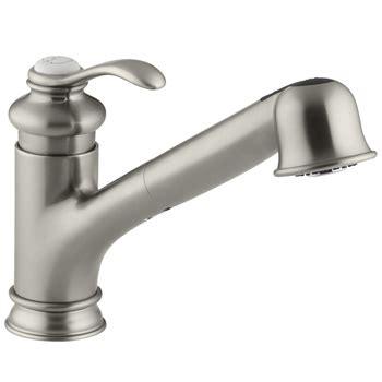 kohler fairfax kitchen faucet kohler k 12177 bn fairfax pull kitchen faucet