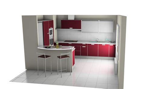 modele placard de cuisine en bois cuisine 3d cuisine en image