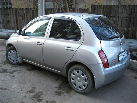 Nissan March Photo by 2003 Nissan March Photos 1 3 Gasoline Ff Automatic For