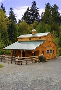 How To Build A Small Horse Barn - WoodWorking Projects & Plans