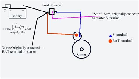 Gm Solenoid Wire Diagram by One Fix For 454 Starter Problems Remote Ford Solenoid