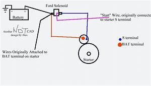 Ford Mini Starter Solenoid Wiring Diagram