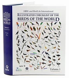 Hbw And Birdlife International Illustrated Checklist Of