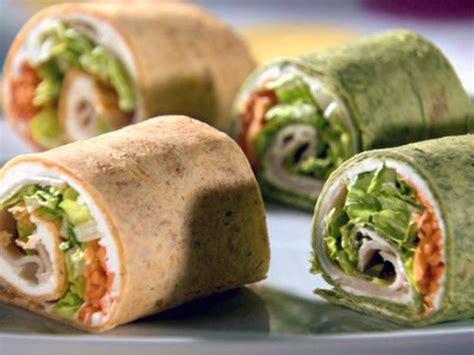 turkey pin wheels recipe sandra lee food network