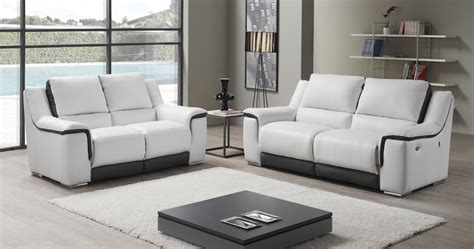 canapé marque italienne pikunis relaxation électrique ou fixe personnalisable sur