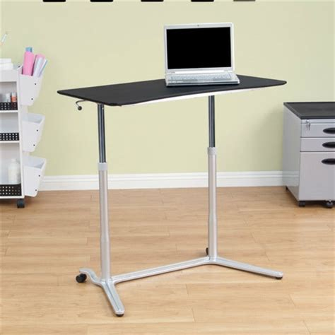 stand up desk price modern ergonomic sit down stand up desk in black finish